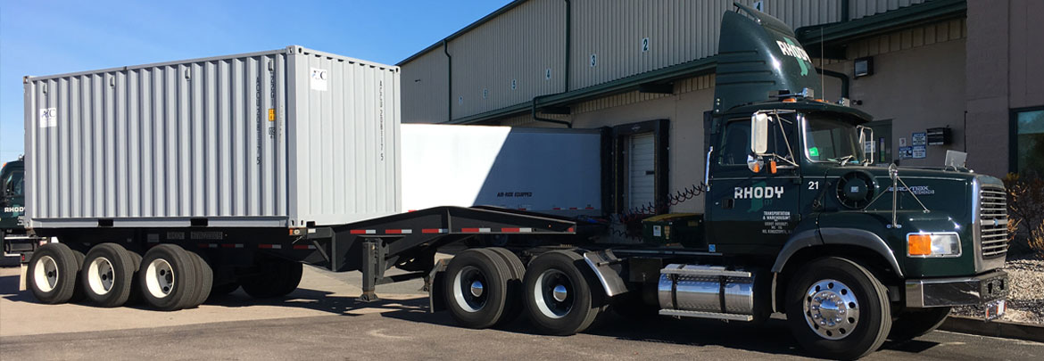 Rhody Transportation: Intermodal Drayage Trucking NE